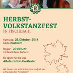 Herbstvolkstanzfest_Fischbach_Plakat_2014