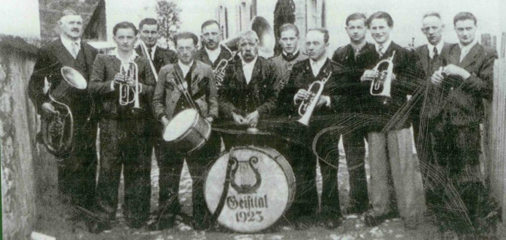 Musikverein Geistthal 1923